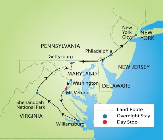 Highlights of American History Tour | YMT Vacations