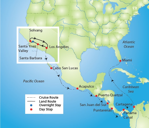 Rose Parade and Panama Canal Cruise