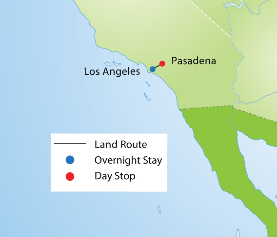 Rose Parade & Los Angeles Tour