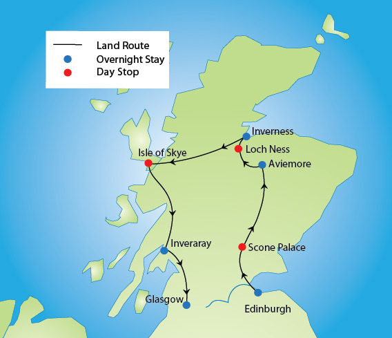 Sights of Scotland Tour