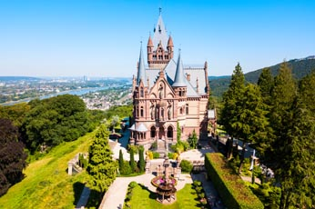 COG RAILWAY TO SCHLOSS DRACHENBURG