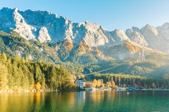OPTION: TOP OF GERMANY TOUR - GARMISH-PARTENRCHEN & THE ZUGSPITZE