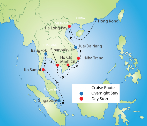 Wonders of Southeast Asia Cruise & Tour | YMT Vacations