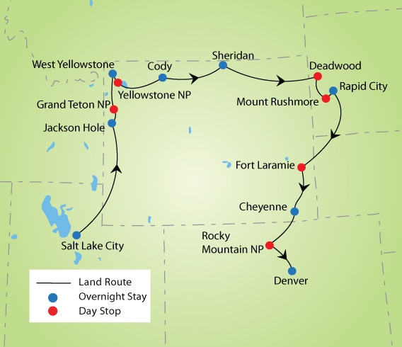 Rocky Mountains & Black Hills National Parks Tour | YMT ... on air france route map, air pacific route map, bahamasair route map, air florida route map, loganair route map, continental express route map, brockway air route map, air new zealand route map, reno air route map, air niugini route map, air madagascar route map, air greenland route map, delta air lines route map, garuda indonesia route map, eastern air lines route map,