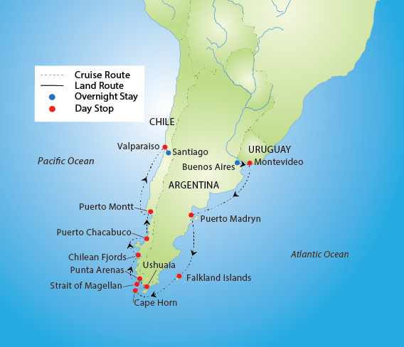 Spectacular South America Cruise