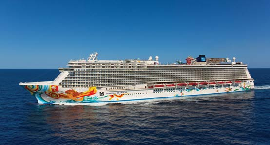 Norwegian Getaway Cruise Ship
