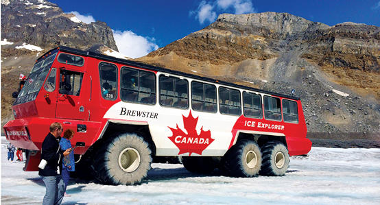 Athabasca Canada Icefield Explorer Excursion