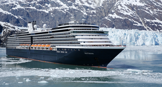 ms Westerdam ship in Alaska