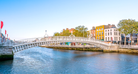 Dublin Ireland Ha'penny Bridge