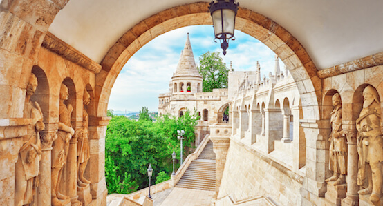 Old Fisherman's Bastion in Budapest