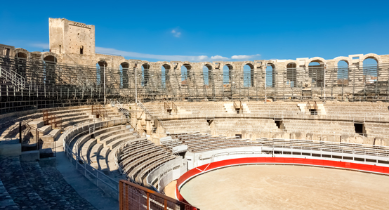 Ampitheater Arena in Arles France