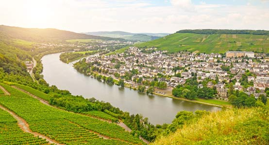 Moselle Valley and Bernkastel