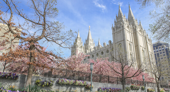 Church in Salt Lake City, Utah