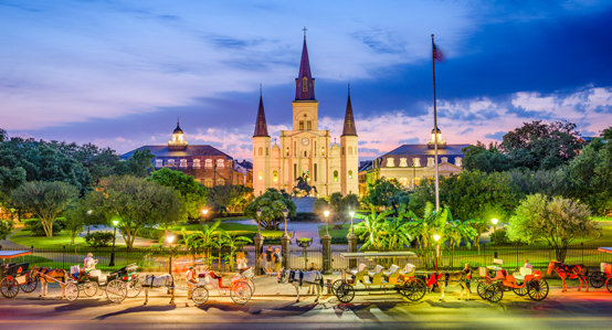 St Luis Cathedral New Orleans