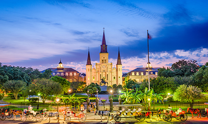 Heart of Texas New & Orleans - Travel Deals